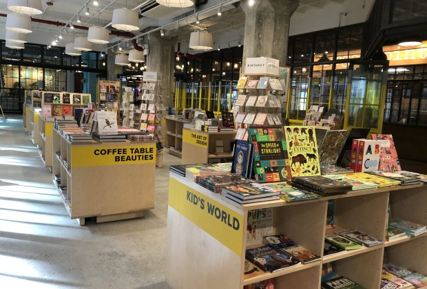 Powerhouse@Industry City has a diverse, curated selection of books