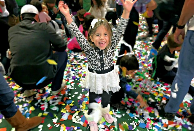 Party like it's Noon Year's Eve! Photo courtesy of Pretend City Children's Museum