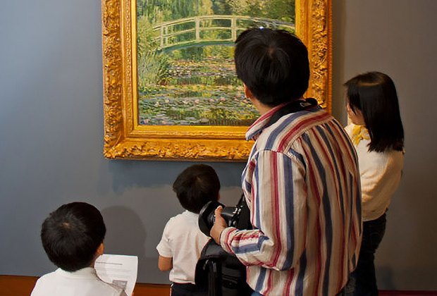 Art for Families: How's the Weather Today, Monet? is free and open to families at the Princeton University Art Museum. Photo courtesy of the museum