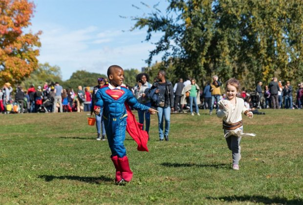 The Prospect Park Alliance invites all local ghosts and ghouls to its annual Halloween Haunted Walk and Fair.