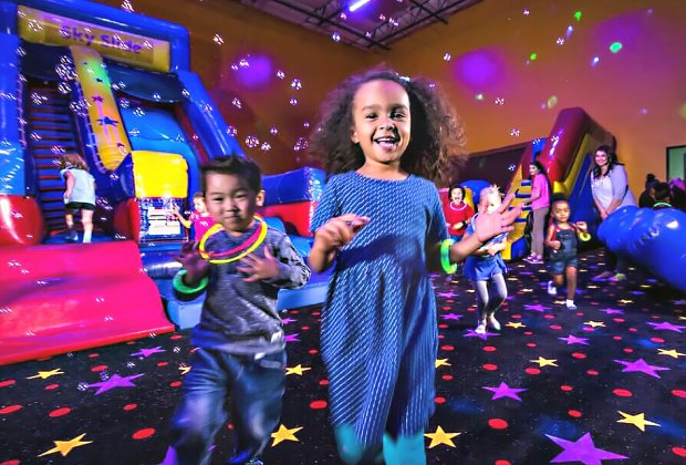 Have a bouncing birthday party at Pump it Up.