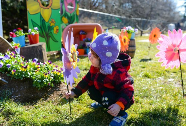 See the blossoms at the Queens Botanical Garden on Mother's Day