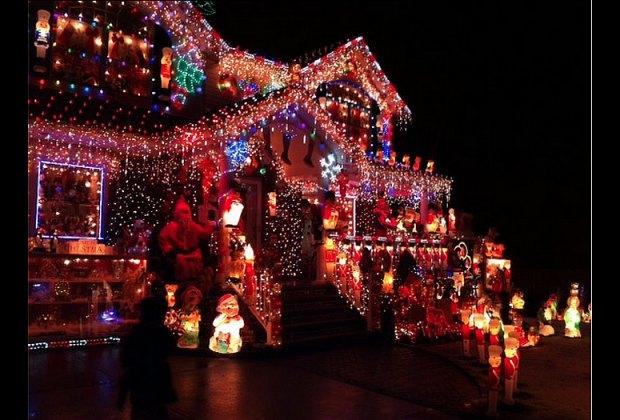 Santa's Corner in Whitestone, Queens