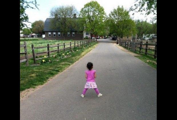 Surveying the farm