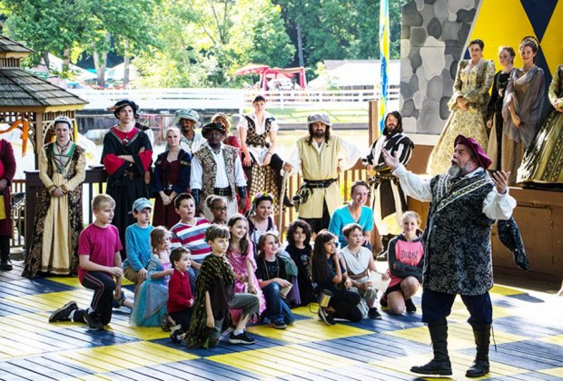 Attend knight school at the New Jersey Renaissance Faire. Photo by Jesse C Photography