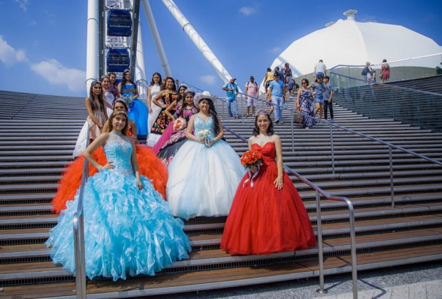 On the 15th of July, celebrate your 15th birthday at Navy Pier's Quinceanera. Photo courtesy of Navy Pier