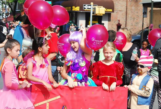 The Ragamuffin parade in Bay Ridge is a Halloween tradition. Photo by Renu Bala