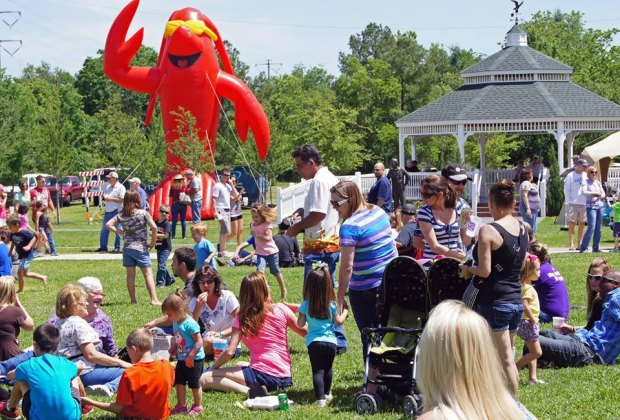 Mudbugs, live music, a kids zone, and crawfish racing make Rails and Tails a family-friendly event you don't want to miss./Photo courtesy of Tomball Texan for Fun.