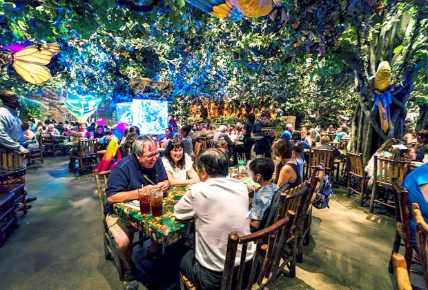 The Rainforest Cafe is part adventure, part restaurant.