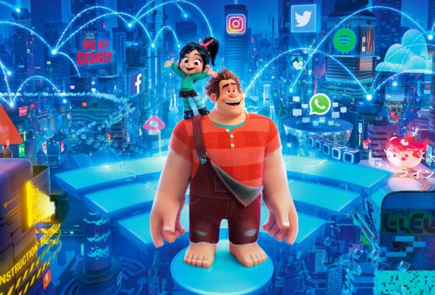 Ralph Breaks the Internet. Photo courtesy of Walt Disney Studios