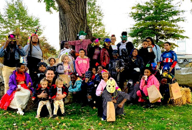 Head to Randall's Island for crafts, games, treats, and spooky fun before you go trick-or-treating. Photo courtesy of Randall's Island Park
