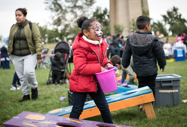 Join the Randall's Island Park Alliance for a free, family-friendly celebration of fall. Photo courtesy of Randall's Island Park Alliance