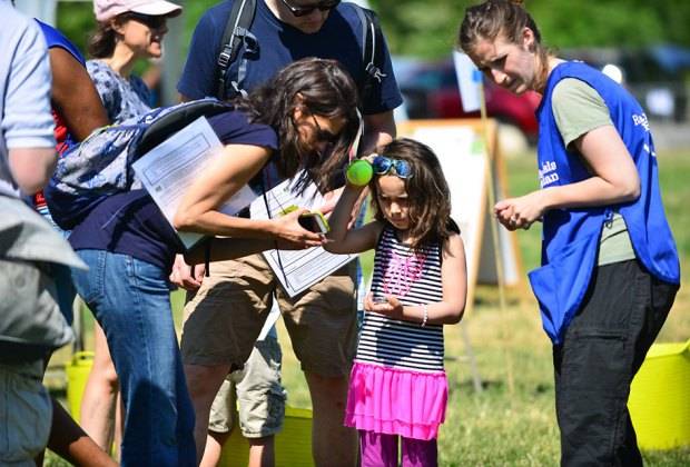 Put your navigation skills to test on Randall's Island at the annual treasure hunt. Photo courtesy of park organizers