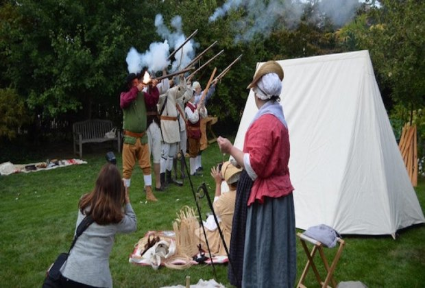 Return to the Colonial era at Raynham Hall. Photo courtesy of Raynham Hall