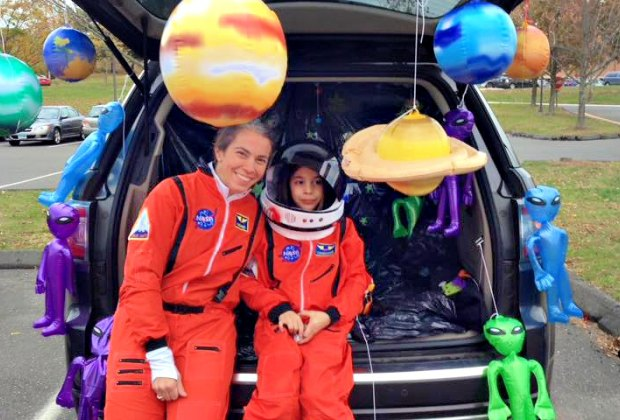 Families really deck out their rides (interplanetary or otherwise) at Redding's Trunk or Treat. Photo courtesy of Redding Neighbors and Newcomers