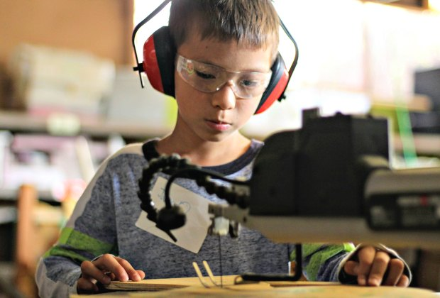 reDiscover's One Day Tinkering Camp at Tinkering School LA
