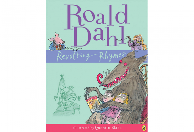 >Roald Dahl's Revolting Rhymes cover art best kids' books