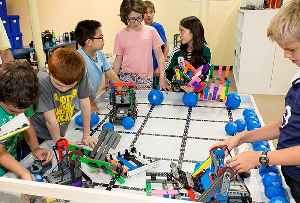 Robot Revolution in Summit focuses on competitive robotics.