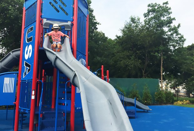 Blast off to a good time at Rocketship Park in Port Jefferson. Photo by the writer