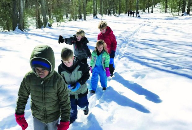 Make a Reindeer Quest at Weir River Farm. Photo courtesy of The Trustees