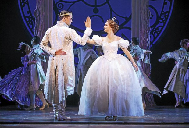 Rodgers & Hammerstein's Cinderella delights audiences with its surprisingly contemporary take on the classic tale at the Mayo Performing Arts Center. Photo courtesy of the production