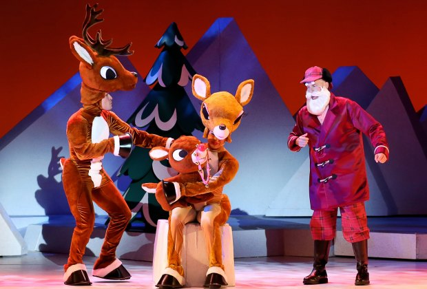 Rudolph the Red-Nosed Reindeer comes to Red Bank and New Brunswick this season. Photo courtesy of State Theatre NJ.