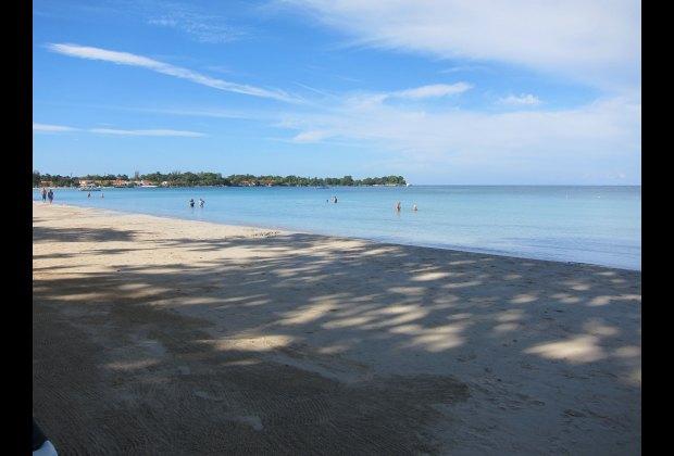 Calm Sea at the Rui Palace Tropical Bay