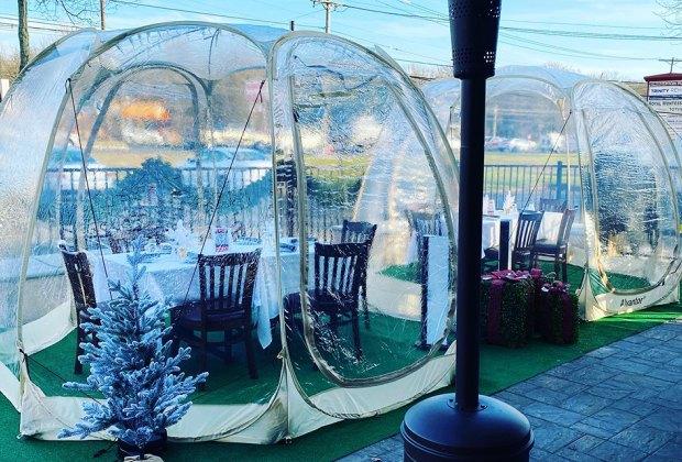 igloo Ruocco's on 9 nj creative outdoor dining
