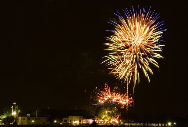 Spend the day on the rides and stay for the 4th of July fireworks at Rye Playland. Photo courtesy of Rye Playland