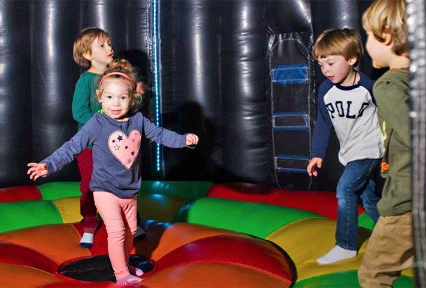 Enjoy the safe toddler bounce area at Safari Adventure. Photo courtesy of Safari Adventure