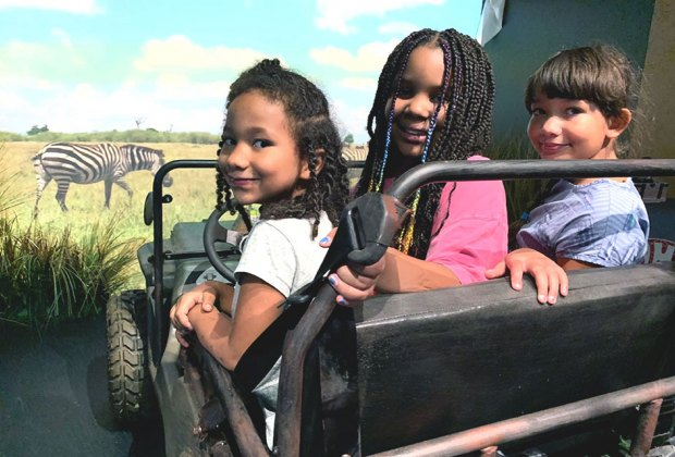 Hop in a Jeep and go on a safari adventure at the new CAMP experience.
