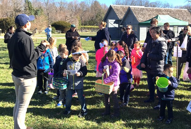 Hunt for Easter eggs in the lush grass of Sagamore Hill, home of the 26th president, Theodore Roosevelt. Photo courtesy of Sagamore Hill National Historic Site, National Park Service, Oyster Bay
