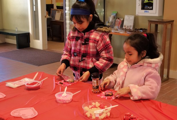Kids get a chance to decorate treats themselves at the House of the Seven Gables' Salem's So Sweet event. Photo courtesy of Salem So Sweet