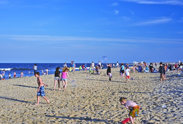 The beautiful beach at Sandy Hook is a quick trip from the city. Photo by Bruce Bordner via Flickr