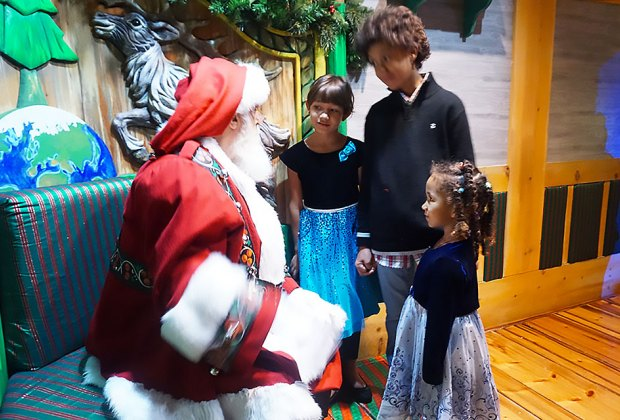 Christmas isn't complete without a visit to the magical Santaland at Macy's. Photo by Jody Mercier