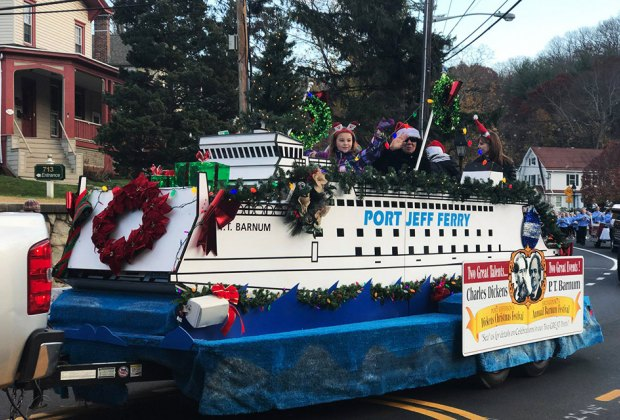 The Dickens Festival in  Port Jefferson delights young and old. Photo courtesy of Port Jefferson Chamber of Commerce