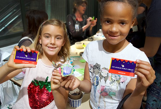 The LA Public Library Card is a city perk for these kids
