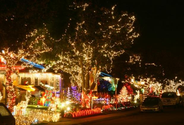 Candy Cane Lane, Woodland Hills, CA