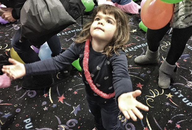 Jump into Christmas Eve at Pump It Up!  Image courtesy of Mommy Poppins.