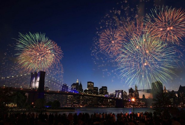 Seeing the NYC July 4th fireworks from a boat should be on your bucket list! Photo courtesy of Seastreak
