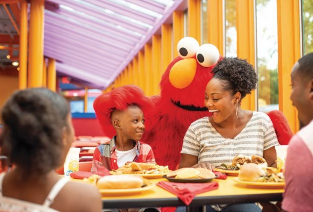 Photo courtesy of Sesame  Place®