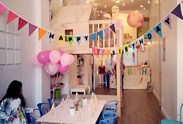 Sky Village will help create your perfect birthday party.