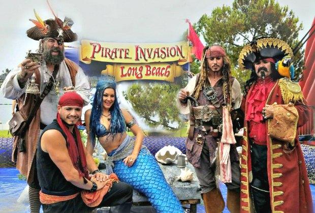 Shoreline Aquatic Park Pirate Invasion & Mermaid Festival. Photo courtesy of the event