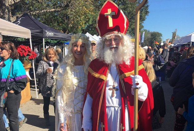 Will you be able to find Mr. and Mrs. Sinterklaas at the Tomball Christmas German Festival?/Photo courtesy of Tomball German Festivals.