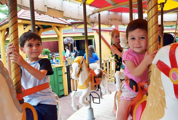Six Flags offers big fun for little riders