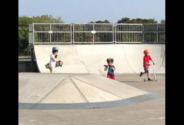 Skate Park on Backus Lane