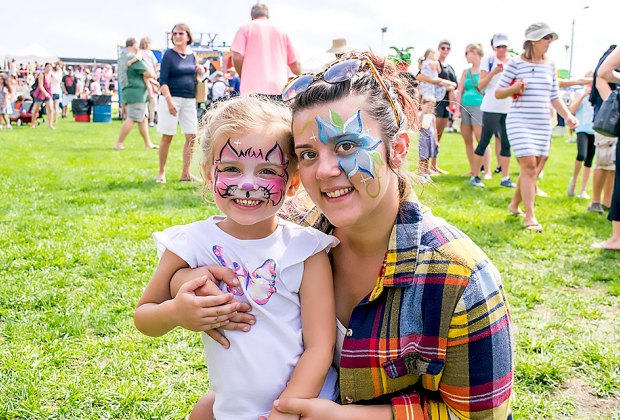 Enjoy a variety of free family activities at the Skimmer Festival in Sea Isle City. Photo courtesy of Sea Isle City
