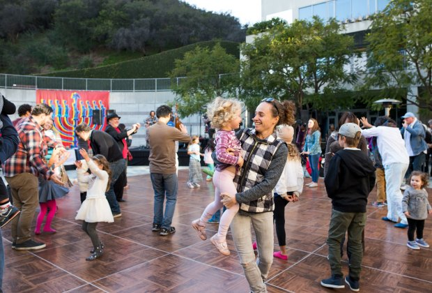 The Skirball's Hanukkah Festival. Photo by Mercie Ghimire