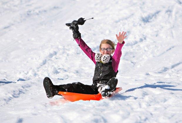 Boston has some prime sledding spots. Photo courtesy of Massachusetts Office of Travel & Tourism