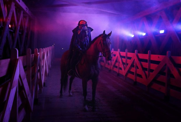 The Sleepy Hollow Experience brings Washington Irving's famous ghost story to life.